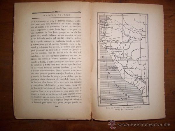 Libros antiguos: EXPLORADORES y conquistadores de Indias : Relatos geográficos - Foto 2 - 43596105