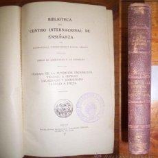 Libros antiguos: TRABAJO DE LA FUNDICIÓN ENDURECIDA ; TRABAJO A CEPILLO ; TALADRADO Y BARRENADO ; TRABAJO A FRESA. Lote 43596736