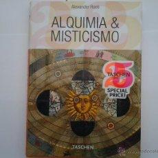 Livres anciens: ALQUIMIA Y MISTICISMO . ALEXANDER ROOB. EN PORTUGUES. EDITORIAL TASCHEN.. Lote 43615453