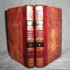Libros antiguos: LOS MARTIRES - AÑO 1826 - CHATEAUBRIAND - RARA EDICION IMPRESA EN MEJICO.. Lote 83120040