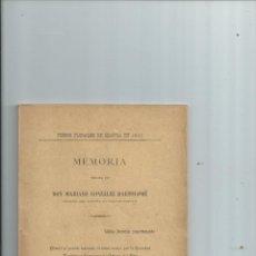 Libros antiguos: SEGOVIA - SOCIEDAD ECONÓMICA SEGOVIANA DE AMIGOS DEL PAÍS, SUS ACTIVIDADES, HISTORIA - 1904. Lote 43676748