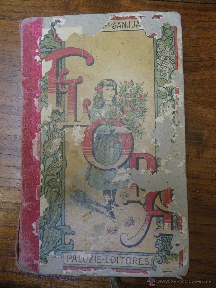 FLORA O LA EDUCACIÓN DE UNA NIÑA, PALUZIE EDITORES, 1910. (Libros Antiguos, Raros y Curiosos - Literatura Infantil y Juvenil - Otros)