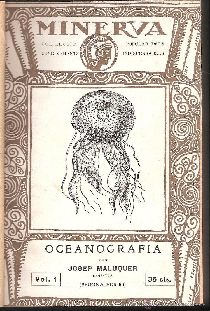 Libros antiguos: MINERVA-COL.LECCIÓ POPULAR DELS CONEIXEMENTS INDISPENSABLES TOM 1 1a.SERIE DEL NUM 1 AL 10 - Foto 3 - 43748507