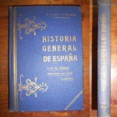 CÁRCER DE MONTALBÁN, Antonio de. Historia General de España y de las naciones americanas... Tomo I
