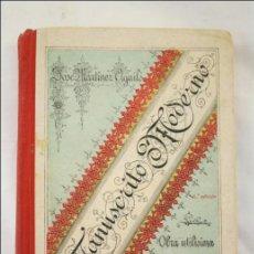 Alte Bücher - Antiguo Libro Manuscrito Moderno. José Martínez Aguiló - 1906 - Ed Librería de Hernando - 16 x 11 Cm - 43787001
