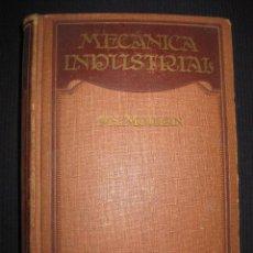 Libros antiguos: TRATADO DE MECANICA INDUSTRIAL.- PH. MOULAN. ED. GUSTAVO GILI 1931.. Lote 43805622
