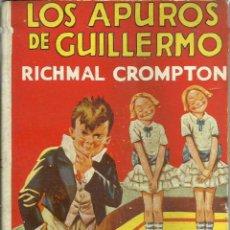 Libros antiguos: LOS APUROS DE GUILLERMO. Lote 43873713