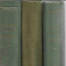 Libros antiguos: LIBRO EN FRANCÉS. 3 TOMOS. TRAITÉ DE LA SYPHILIS. ED. JEANSELME. G. DOIN & Cª. PARIS. 1931. Lote 43908433
