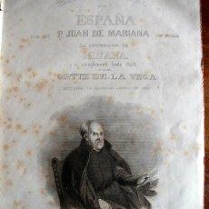 Libros antiguos: PADRE MARIANA. HISTORIA GENERAL DE ESPAÑA Y EL COMPLEMENTO HASTA 1848. Lote 43911353