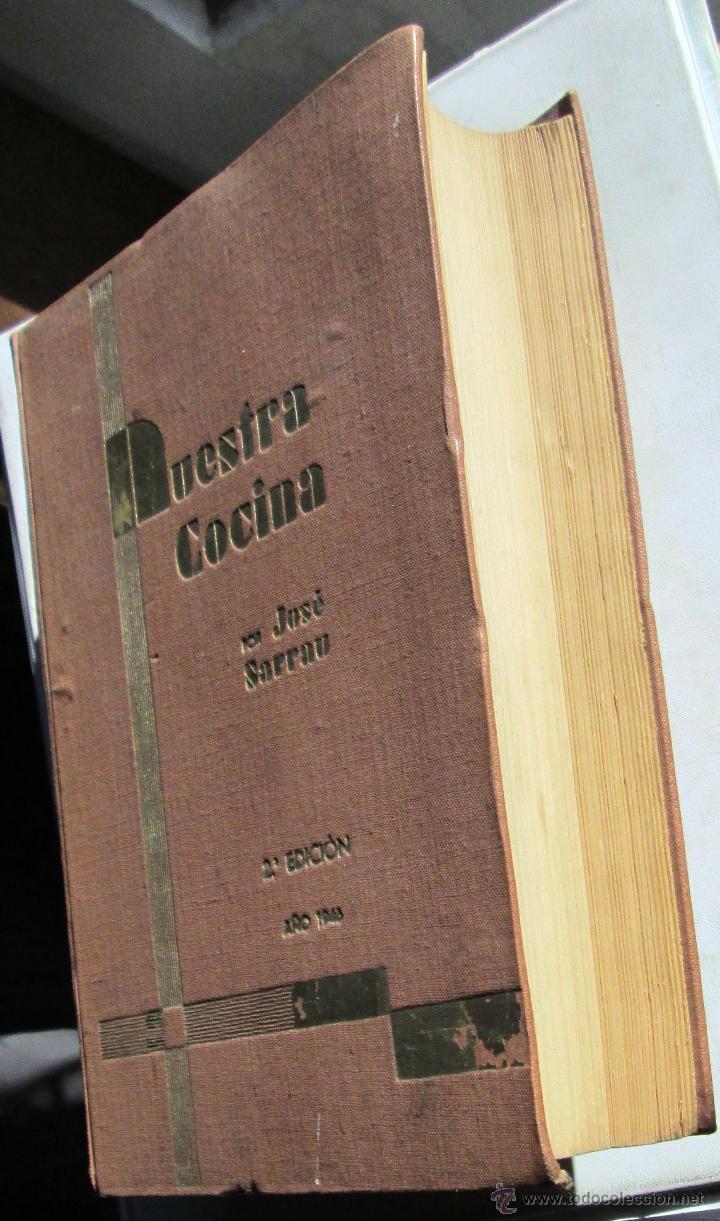 Libros antiguos: NUESTRA COCINA- J. SARRAÚ - Foto 2 - 43922457
