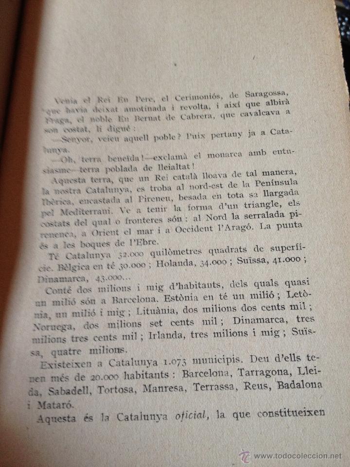 Libros antiguos: Elogi de Catalunya Proemi de Francesc Cambó, J. Vallés i Pujals, tercera edició, any 1928, intonso - Foto 3 - 43936820