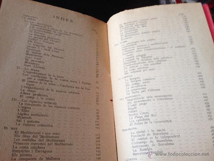 Libros antiguos: Elogi de Catalunya Proemi de Francesc Cambó, J. Vallés i Pujals, tercera edició, any 1928, intonso - Foto 4 - 43936820