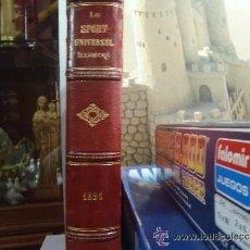 Libros antiguos: LIBRO LA SPORT UNIVERSEL ILUSTRE 1896 ENCUADERNADO EN PIEL. Lote 43947542