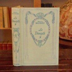 Libros antiguos: LE DISCIPLE. BOURGET PAUL. Lote 43960167