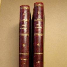 Libros antiguos: TRATADO COMPLETO DE CARPINTERÍA (2 TOMOS) - NARCISO ARAU Y VIDAL. Lote 39933713