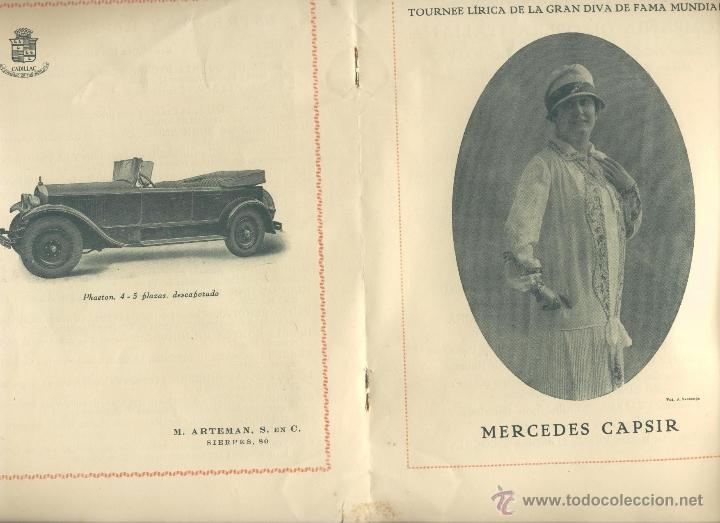 Libros antiguos: Programa del teatro San Fernando. Compañía Díaz-Artigas Año 1927 - Foto 3 - 43985846