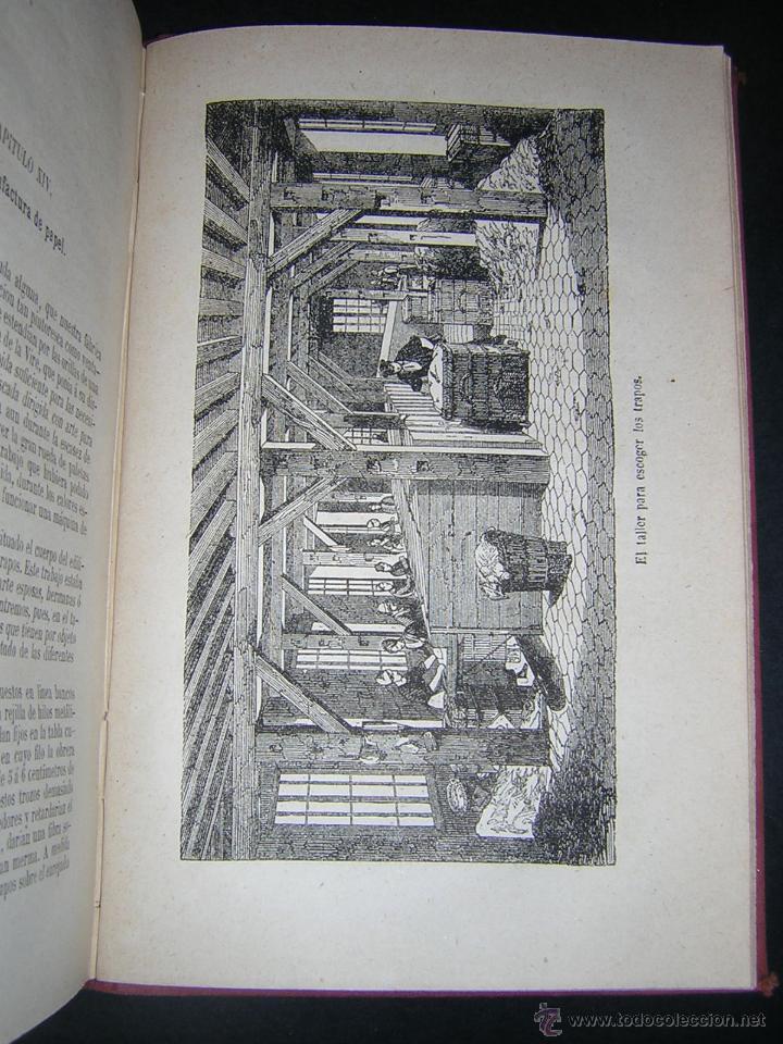 Libros antiguos: 1880 - PIZZETA - HISTORIA DE UN PLIEGO DE PAPEL - BIBLIOTECA CIENTÍFICA RECREATIVA - Foto 4 - 43995427