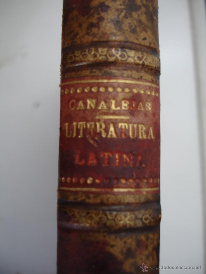 APUNTES PARA UN CURSO DE LITERATURA LATINA. TOMO II JOSÉ CANALEJA Y MENDEZ. (Libros Antiguos, Raros y Curiosos - Literatura Infantil y Juvenil - Otros)