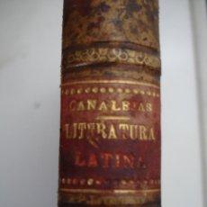 Libros antiguos: APUNTES PARA UN CURSO DE LITERATURA LATINA. TOMO II JOSÉ CANALEJA Y MENDEZ.. Lote 44044055