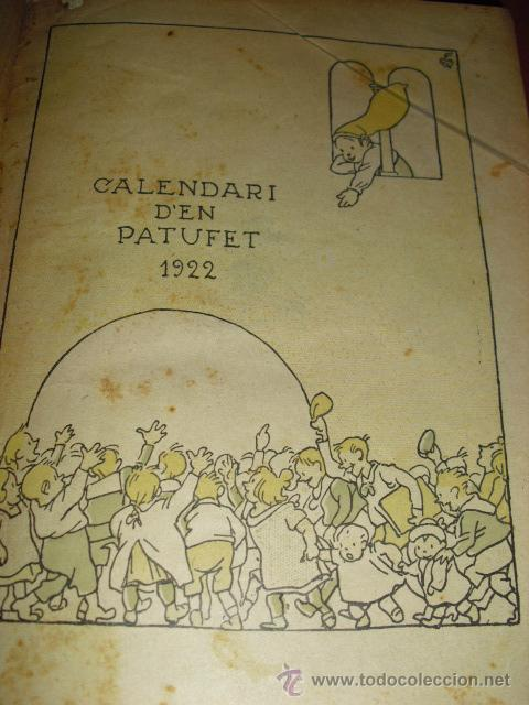Libros antiguos: CALENDARI D'EN PATUFET - ANY 1922 - Foto 1 - 44051153