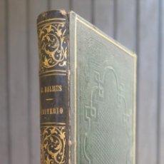 Libros antiguos: 1849.- EL CRITERIO. JAIME BALMES. PARIS. Lote 44062405