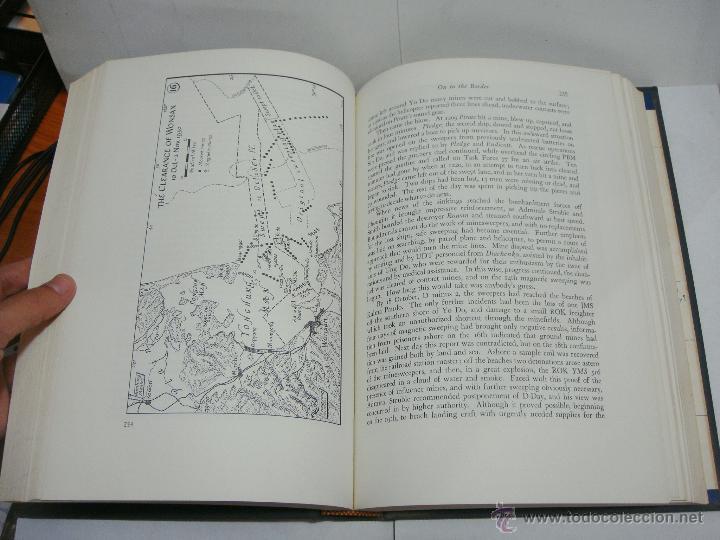 Libros antiguos: History of United States Naval Operations. KOREA. James A. Field. Washington - 1962 - Foto 4 - 44074861