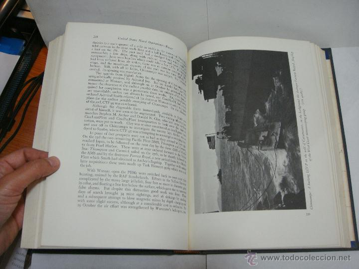 Libros antiguos: History of United States Naval Operations. KOREA. James A. Field. Washington - 1962 - Foto 5 - 44074861