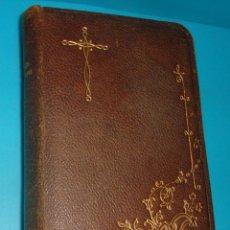 Libros antiguos: LIBRO DE ORACIONES LA VALLE, LA MISA Y SAGRADA COMUNION, EDITOR WINTERBERG. J. S. STEINBRENER. Lote 44075552