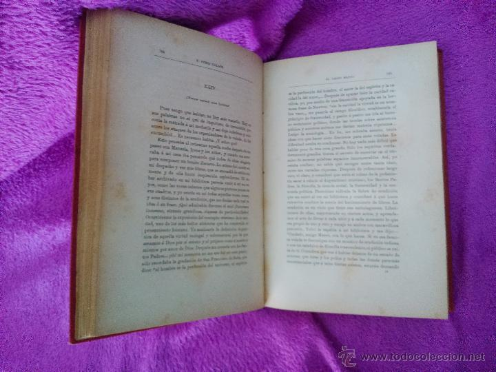 Libros antiguos: EL AMIGO MANSO, BENITO PEREZ GALDOS 1882, PRIMERA EDICION - Foto 3 - 44109188