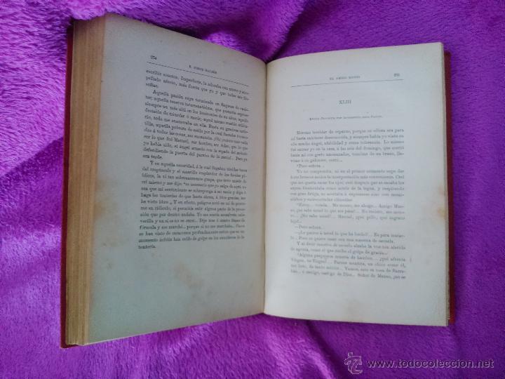 Libros antiguos: EL AMIGO MANSO, BENITO PEREZ GALDOS 1882, PRIMERA EDICION - Foto 4 - 44109188