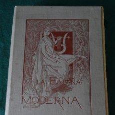 Libros antiguos: LA ESPAÑA MODERNA - ENERO 1889 - PUBLICACION LITERARIA CIENTIFICA Y ARTISTICA. Lote 44167318