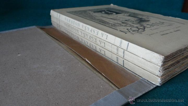 Libros antiguos: LA ESPAÑA MODERNA - ENERO 1889 - PUBLICACION LITERARIA CIENTIFICA Y ARTISTICA - Foto 5 - 44167318