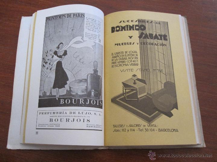 Libros antiguos: VI FERIA DE BARCELONA 1933 - CATÁLOGO OFICIAL NACIONAL INTERNACIONAL - Foto 2 - 44170333