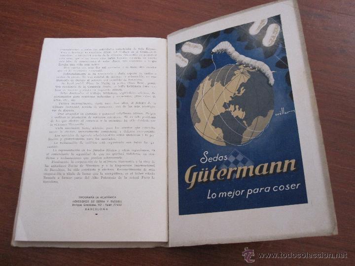 Libros antiguos: VI FERIA DE BARCELONA 1933 - CATÁLOGO OFICIAL NACIONAL INTERNACIONAL - Foto 6 - 44170333