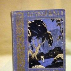 Libros antiguos: LIBRO, SUS MEJORES OBRAS AL ALCANCE DE LOS NIÑOS, ESCRITORES DEL SIGLO DE ORO, COLECCION ORTIZ. Lote 44265989