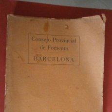Libros antiguos: MEMORIA-RESUMEN DE LOS TRABAJOS REALIZADOS POR LA SECCIÓN DE PLAGAS DEL CAMPO PARA LA EXTINCIÓN . Lote 44273343