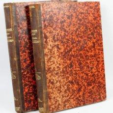 Libros antiguos: ESTUDIO HISTÓRICO DE LAS LUCHAS POLÍTICAS DE LA ESPAÑA DEL SIGLO XIX. 2 TOMOS. MADRID 1880. 22X30CM. Lote 44282579
