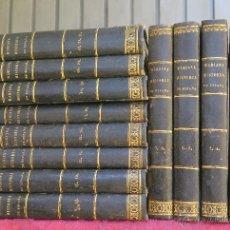 Libros antiguos: 1841.- HISTORIA DE ESPAÑA. MARIANA. CONTINUADA Y AUMENTADA. 12 TOMOS. COMPLETA. Lote 44354579