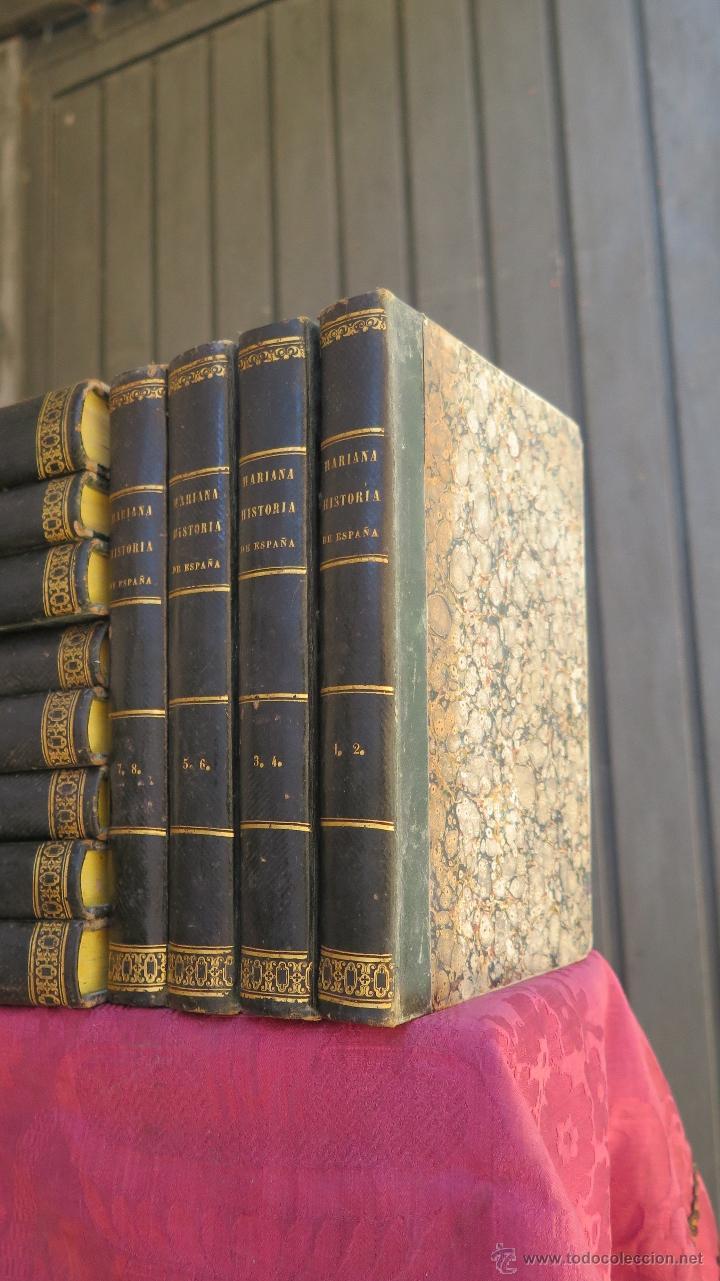 Libros antiguos: 1841.- HISTORIA DE ESPAÑA. MARIANA. CONTINUADA Y AUMENTADA. 12 TOMOS. COMPLETA - Foto 2 - 44354579