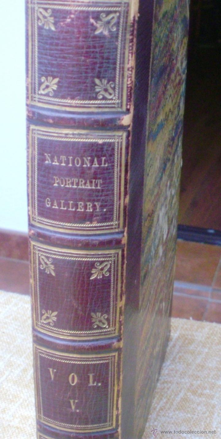 LIBRO NATIONAL PORTRAIT GALLERY, AUTOR WILLIAM JERDAN, VOLÚMEN 5, AÑO 1834, FISHER, SON & JACKSON (Libros Antiguos, Raros y Curiosos - Otros Idiomas)