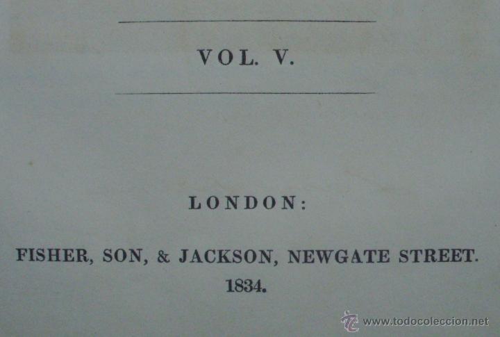 Libros antiguos: Libro National Portrait Gallery, autor William Jerdan, Volúmen 5, año 1834, Fisher, Son & Jackson - Foto 7 - 44357103