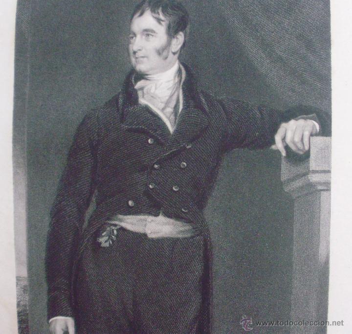 Libros antiguos: Libro National Portrait Gallery, autor William Jerdan, Volúmen 5, año 1834, Fisher, Son & Jackson - Foto 11 - 44357103