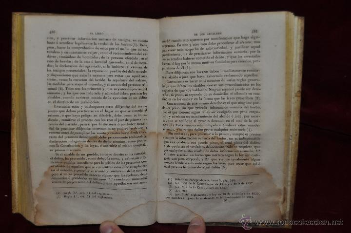 Libros antiguos: EL LIBRO DE LOS ALCALDES Y AYUNTAMIENTOS POR MANUEL ORTIZ DE ZUÑIGA. AÑO 1842. MADRID, VIUDA JORDAN - Foto 6 - 44468337