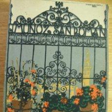 Libros antiguos: ES UNA NOVIA SEVILLA - ESTAMPAS Y COSTUMBRES - J. MUÑOZ SAN ROMAN. Lote 44659427