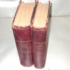 Libros antiguos: EL CALVARIO DE UN ANGEL ·· OBRA COMPLETA EN 2 TOMOS. Lote 44665057