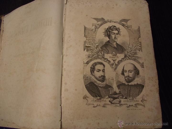 Libros antiguos: COMPENDIO DE HISTORIA UNIVERSAL DE CÉSAR CANTU 1877 - Foto 4 - 44703310