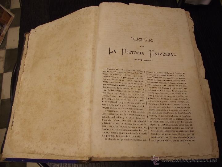 Libros antiguos: COMPENDIO DE HISTORIA UNIVERSAL DE CÉSAR CANTU 1877 - Foto 5 - 44703310
