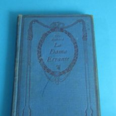 Libros antiguos: LA DAMA ERRANTE. PÍO BAROJA ( L02 ). Lote 44736901