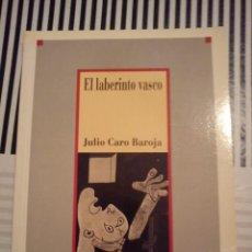 Libros antiguos: LABERINTO VASCO. JULIO CARO BAROJA. BIBLIOTECA DE LA HISTORIA DE ESPAÑA. Lote 44740844