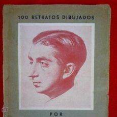 Livres anciens: L- 282. CALLICÓ. 100 RETRATOS DIBUJADOS. 1920-1933. PREFACIO DE CARLES RIBA. MADRID. 1934.. Lote 44843163